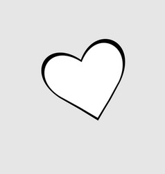heart bakcground valentines day vector image