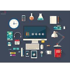 Designer desktop vector