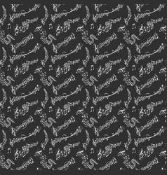 music note melody symbols vector image