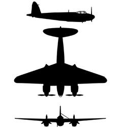de dh 98 mosquito vector image
