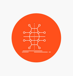 Distribution grid infrastructure network smart vector