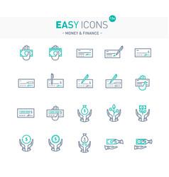 Easy icons 13e money vector