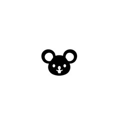 mouse animal isolated icon vector image