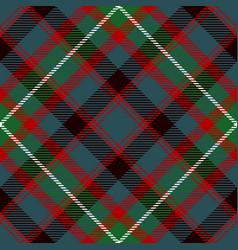 Tartan seamless pattern background red gray vector
