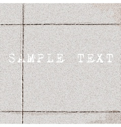 Texture of tiled ground vector