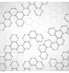 Molecule dna abstract background vector