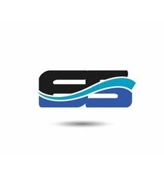 65th Year anniversary design logo vector image vector image