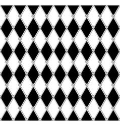 Black a white seamless background vector