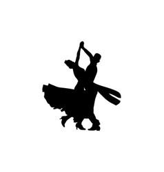 Dance sport ballroom dancing vector