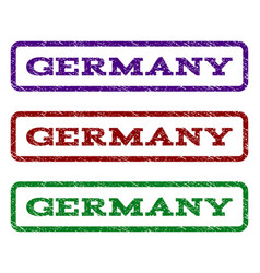 germany watermark stamp vector image