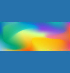 liquid colored background vector image