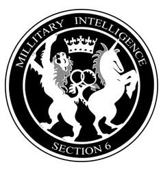 mi6 logo vector image