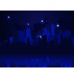 night city3 vector image