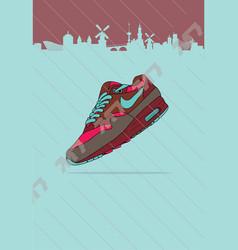 Nike air max 1 amsterdam parra patta vector