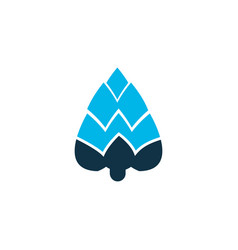 plant icon colored symbol premium quality vector image