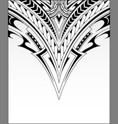 Polynesian ornaments for decorative prints vector