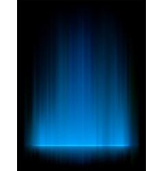 Blue Aurora Background vector image vector image