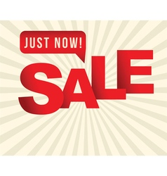 Sale sign vector