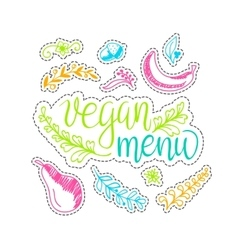 eco friendly concept - design element made vector image vector image