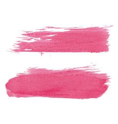 Abstract watercolor brush set vector