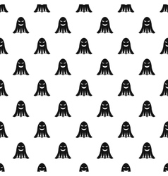 Ghost pattern simple style vector