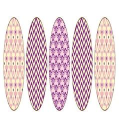 Purple Easter Eggs vector