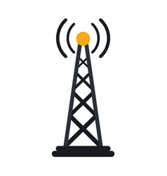 Radio antenna transmission mast communication vector