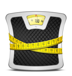Scales Diet Concept vector image vector image