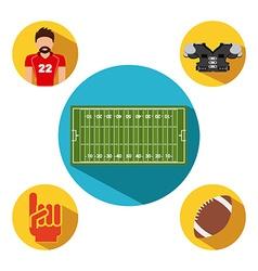 sport emblem design vector image vector image
