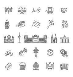 traditional symbols of culture architecture and vector image