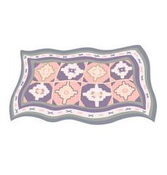 Armenian carpet national carpet vector