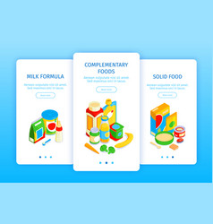 bafood vertical banners vector image