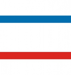 crimea flag vector image