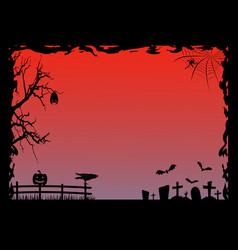 halloween fram vector image
