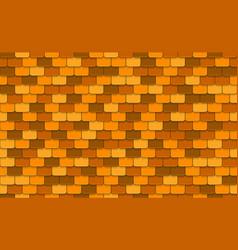 Yellow rotiles seamless pattern vector