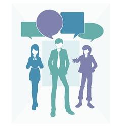 Business text speak vector image vector image