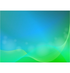 abstract light background with wave vector image vector image