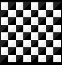 chess board flat design style vector image