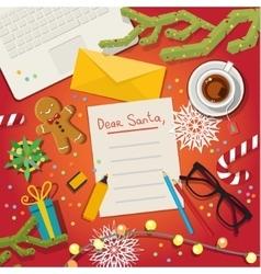 Christmas card concept vector