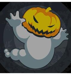 halloween spooky jack vector image