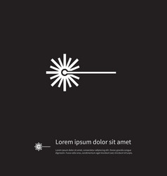 isolated dangers icon warning element can vector image