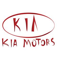 Kia motors or color vector