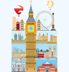 London skyline 10 vector