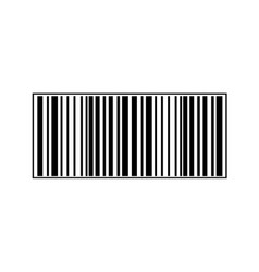 realistic bar code icon a modern simple flat vector image