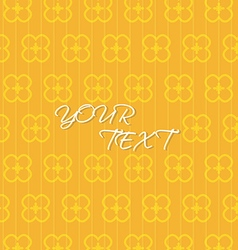 Abstract Orange Yellow Background Template vector image vector image