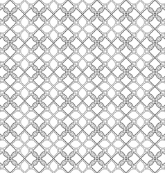 Delicate seamless stylized flower pattern in vector image