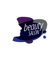 logo beauty salon vector image