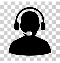 receptionist icon vector image vector image