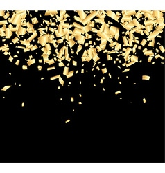 Background with confetti vector image