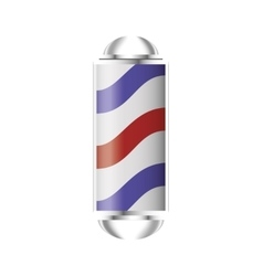 Barber pole icon vector